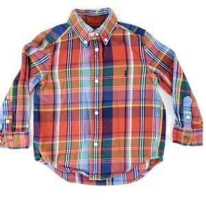 Polo Ralph Lauren Kids Long Sleeve Shirt Button Up